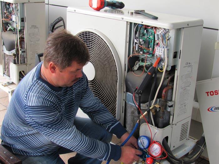 ремонт электроники инверторного кондиционера