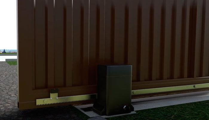 концевик откатных ворот