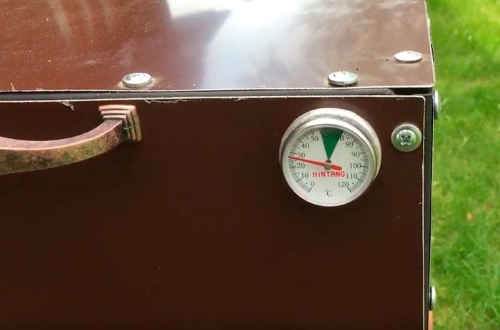 термометр температуры в сушильной камере
