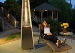 Обзор уличного обогревателя Ballu Flame — тепло, светло, красиво, дорого.