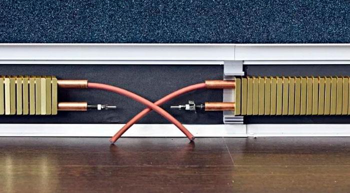электрический теплый плинтус