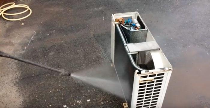 промывка кондиционера водой