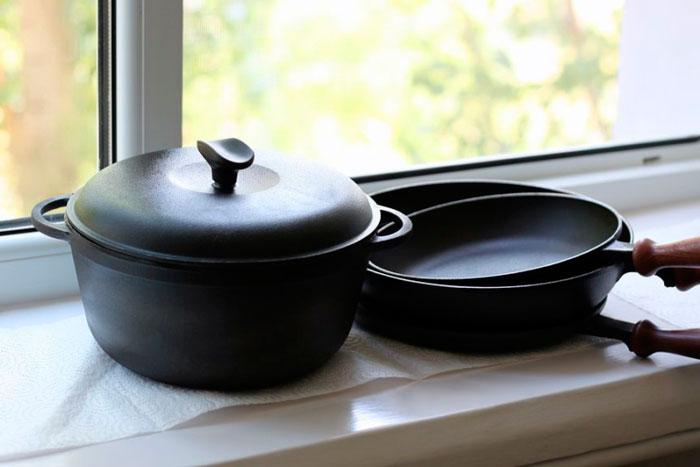 толстостенная посуда для индукционных плит