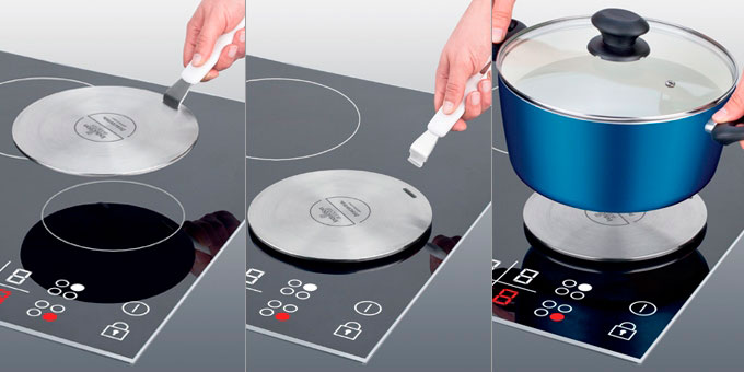 переходник для любой посуды на индукционную плиту