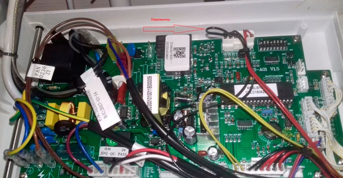 подключение термостата на газовом котле Electrolux