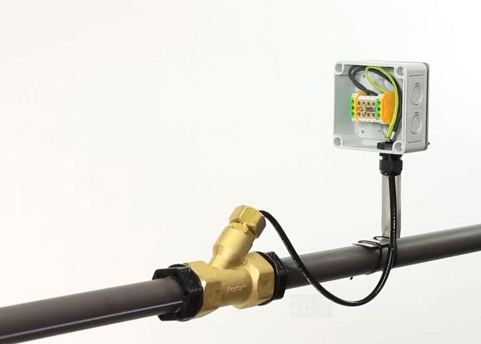 подключение и монтаж греющего кабеля для водопроводных труб