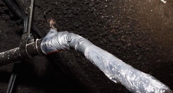 плохая теплоизоляция труб что делать