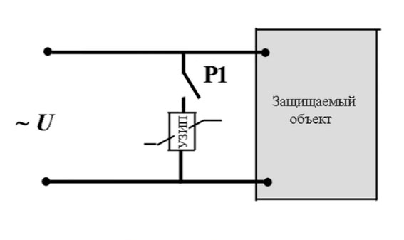 принципиальная схема подключения узип
