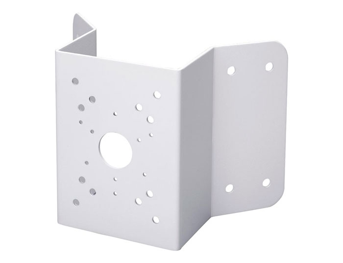 угловой кронштейн для крепежа видеокамер на угол дома