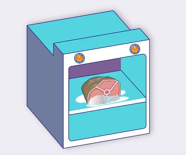 разморозка в духовке отличие от микроволновки