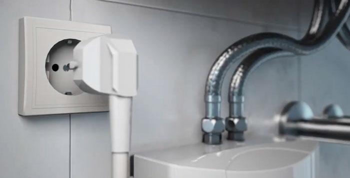 подключение проточного водонагревателя в розетку последствия