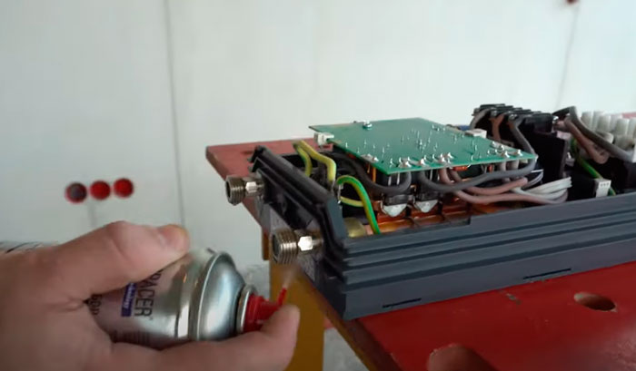 подключение запорной арматуры на проточном водонагревателе