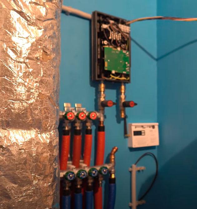 подключение фитингов и труб к проточному водонагревателю
