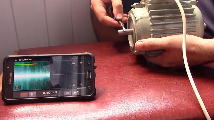как узнать частоту вращения вала двигателя при помощи смартфона