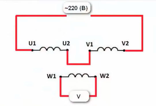 определение начала и конца обмоток методом трансформации