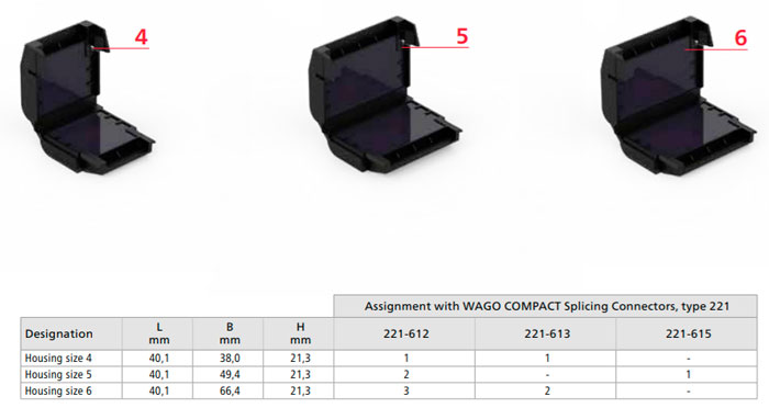 размеры гелевых муфт для ваго