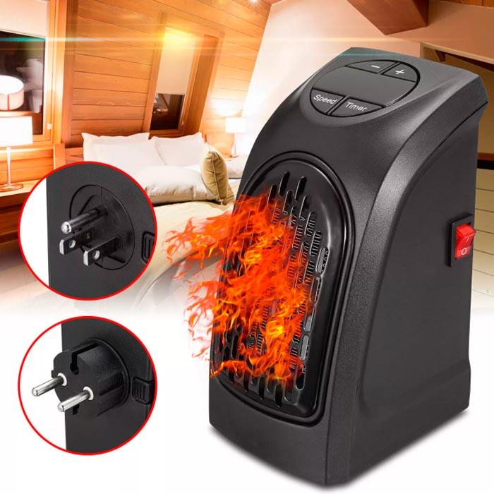 бесполезный тепловентилятор handy heater