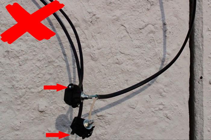 зачем нужны колпачки для сип провода при подключении к кабелю