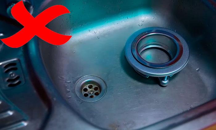 каким диаметром должно быть отверстие в мойке под измельчитель