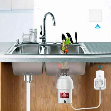 беспроводная кнопка включения измельчителя пищевых отходов