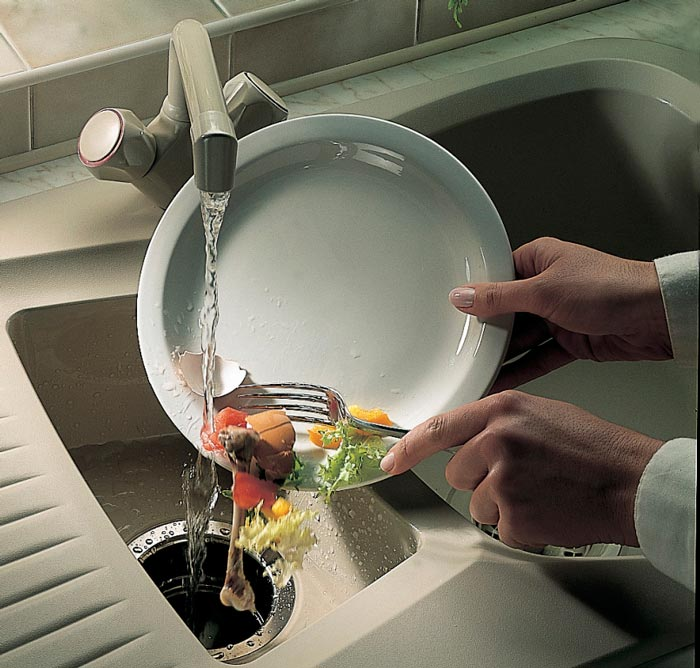 правильная эксплуатация измельчителя пищевых отходов