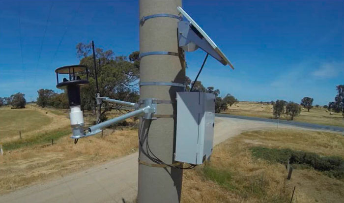 подключение блока индикаторов тока КЗ от солнечных батарей