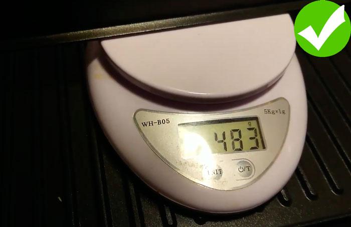 сравнение веса панели гриля