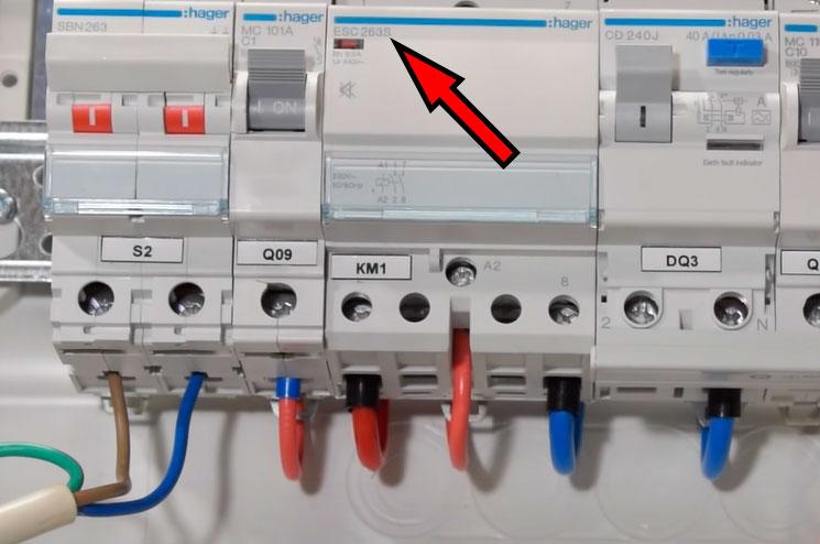 контакторы пониженной шумности с буквой S в обозначении