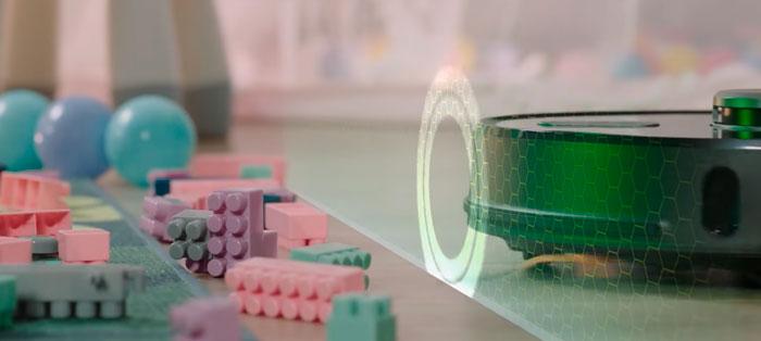 построение запретных зон для робота пылесоса