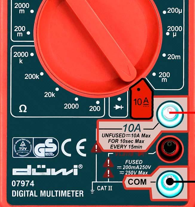 как понять что мультиметр измеряет переменный или постоянный ток
