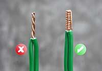 Как правильно скрутить провода между собой?