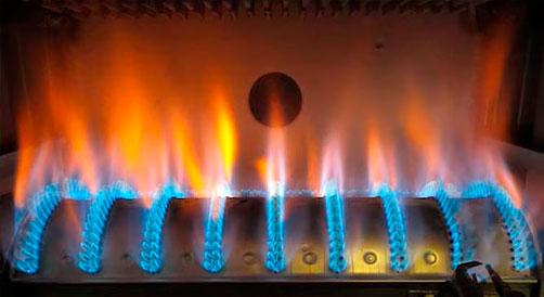 уменьшение мощности газовой горелки котла